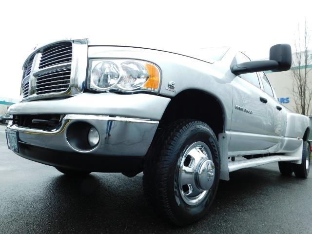 2005 Dodge Ram 3500 Laramie / 4X4 / 5.9L DIESEL / 105K Mi/ 6-Speed DRW - Photo 10 - Portland, OR 97217