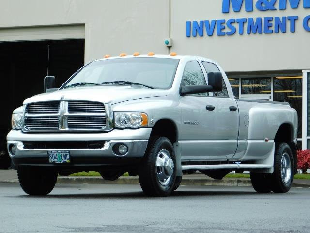 2005 Dodge Ram 3500 Laramie / 4X4 / 5.9L DIESEL / 105K Mi/ 6-Speed DRW - Photo 46 - Portland, OR 97217