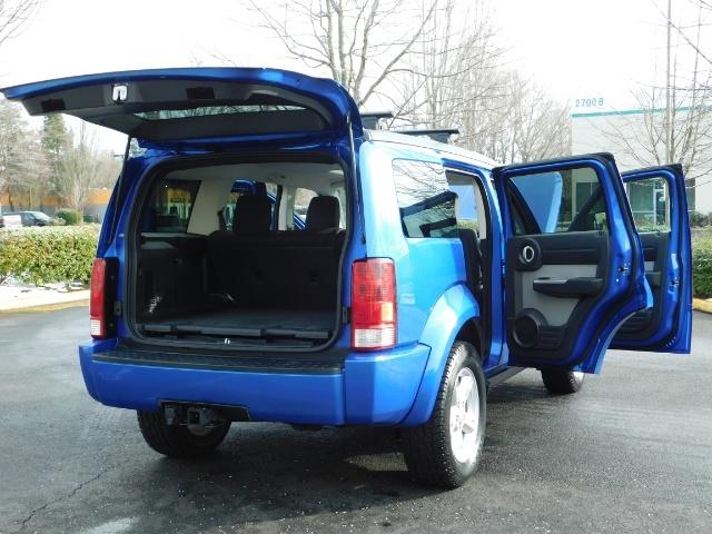 2007 Dodge Nitro SLT SPORT SUV / 4X4 / V6 3.4L / SUN ROOF - Photo 27 - Portland, OR 97217