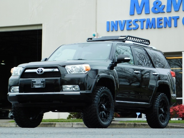 """2011 Toyota 4Runner V6 / 4X4 / LEATHER / CAMERA / 20 """" XD RIMS / LIFTED - Photo 43 - Portland, OR 97217"""