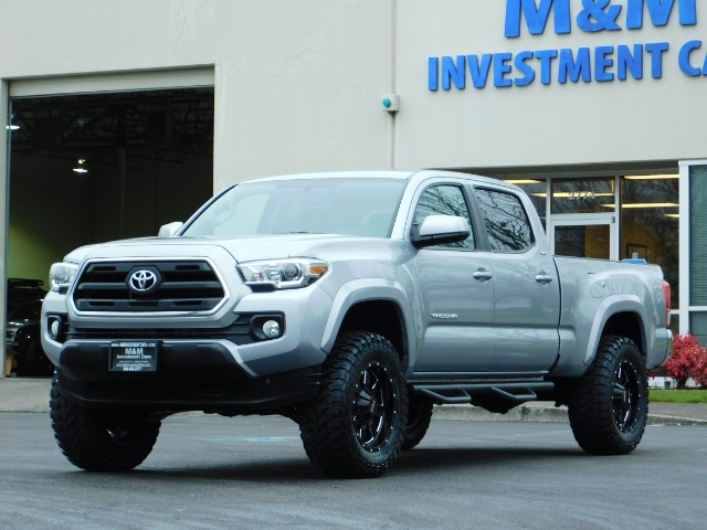 2016 Toyota Tacoma SR5 V6 / 4X4 / Backup camera / LONG BED / LIFTED - Photo 42 - Portland, OR 97217