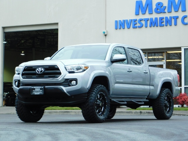 2016 Toyota Tacoma SR5 V6 / 4X4 / Backup camera / LONG BED / LIFTED - Photo 43 - Portland, OR 97217