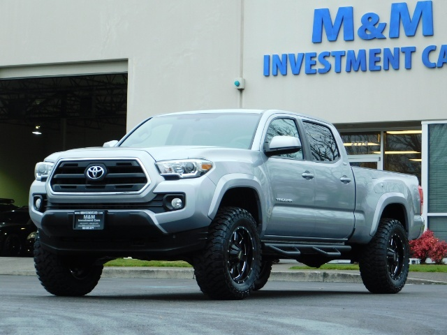 2016 Toyota Tacoma SR5 V6 / 4X4 / Backup camera / LONG BED / LIFTED - Photo 1 - Portland, OR 97217