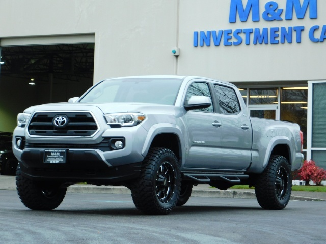 2016 Toyota Tacoma SR5 V6 / 4X4 / Backup camera / LONG BED / LIFTED - Photo 46 - Portland, OR 97217