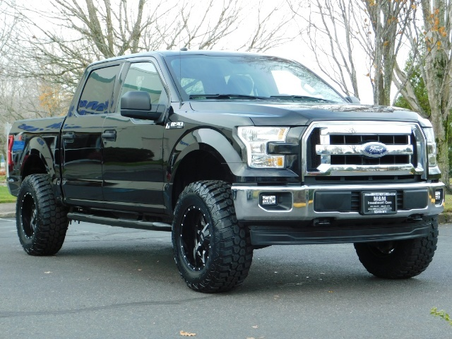 2017 Ford F150 Lifted >> 2017 Ford F 150 Xlt Crew Cab 4x4 Lifted New 35 Inc Mud Tires