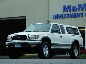 2004 Toyota Tacoma 4X4 Xtracab / Matching Canopy / 1-OWNER Truck