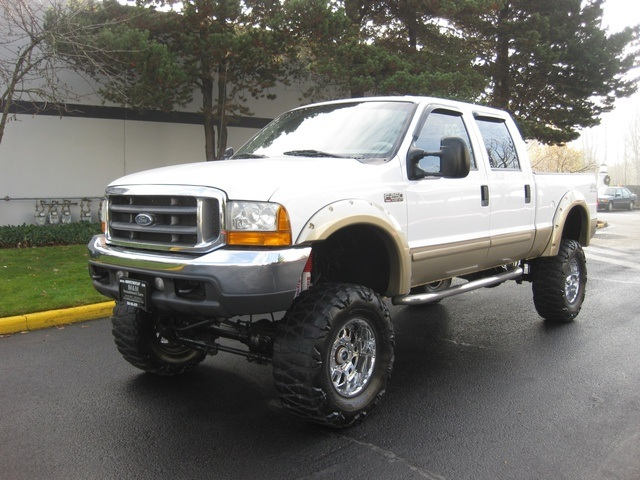 2001 Ford F 250 4dr Lariat 4x4 7 3l Powerstroke Diesel Lifted