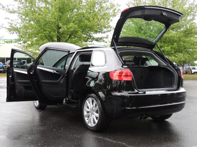 2009 Audi A3 2.0T PZEV / Wagon / Leather / ONLY 51K Miles - Photo 27 - Portland, OR 97217