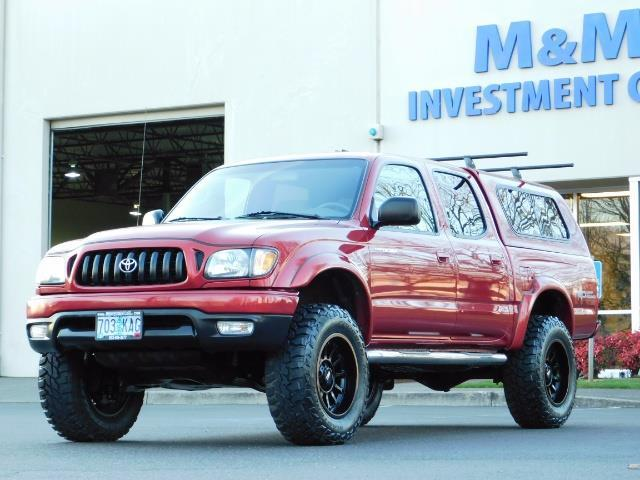 2004 Toyota Tacoma SR5 V6 Double Cab / TRD OFF RD / 124k Mi /LIFTED - Photo 1 - Portland, OR 97217