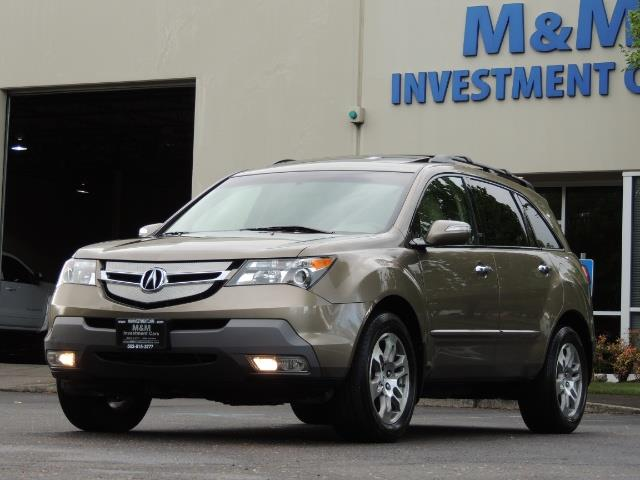 2009 Acura MDX SH-AWD w/Tech / 3RD SEAT / Navigation / Excel Cond - Photo 34 - Portland, OR 97217