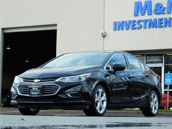 2017 Chevrolet Cruze Premier Auto / Leather / Heated seats / Backup cam