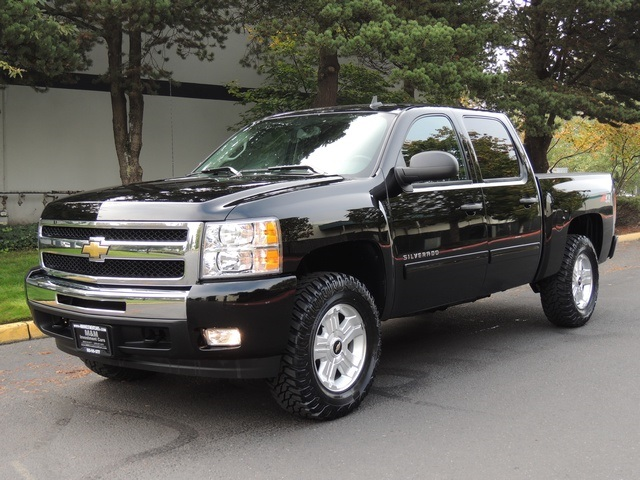 2011 chevrolet silverado 1500 lt crew cab 4x4 1 owner warranty lifted. Black Bedroom Furniture Sets. Home Design Ideas