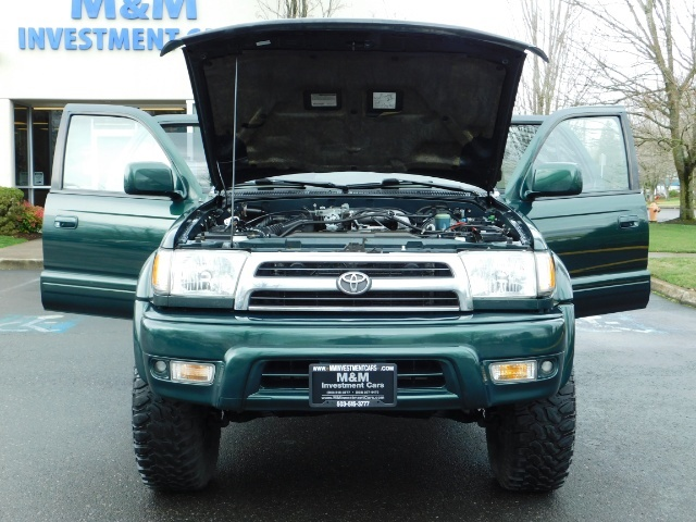1999 Toyota 4Runner Limited 4X4 / Leather / Sunroof / LIFTED LIFTED - Photo 34 - Portland, OR 97217