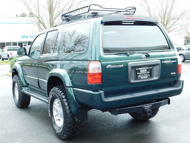 1999 Toyota 4Runner Limited 4X4 / Leather / Sunroof / LIFTED LIFTED - Photo 7 - Portland, OR 97217