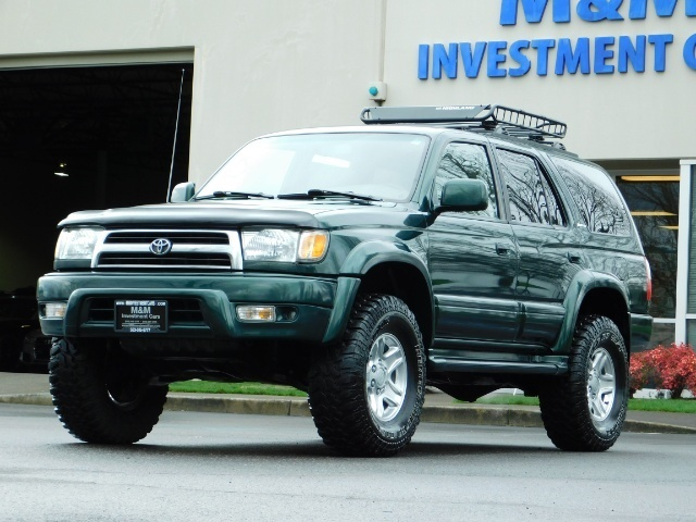 1999 Toyota 4Runner Limited 4X4 / Leather / Sunroof / LIFTED LIFTED - Photo 44 - Portland, OR 97217
