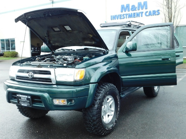 1999 Toyota 4Runner Limited 4X4 / Leather / Sunroof / LIFTED LIFTED - Photo 25 - Portland, OR 97217