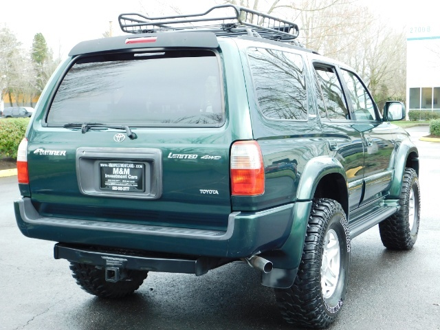 1999 Toyota 4Runner Limited 4X4 / Leather / Sunroof / LIFTED LIFTED - Photo 8 - Portland, OR 97217