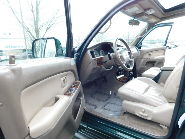 1999 Toyota 4Runner Limited 4X4 / Leather / Sunroof / LIFTED LIFTED - Photo 11 - Portland, OR 97217