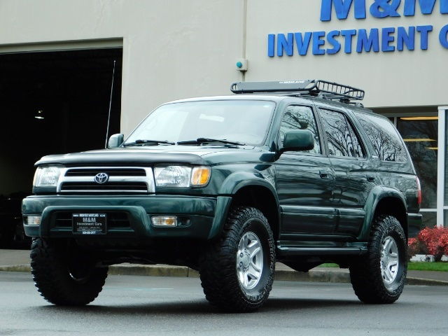 1999 Toyota 4Runner Limited 4X4 / Leather / Sunroof / LIFTED LIFTED - Photo 45 - Portland, OR 97217