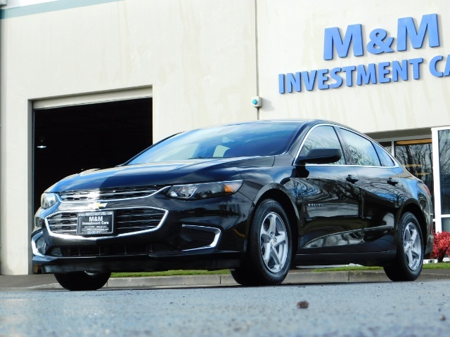 2017 Chevrolet Malibu LS / Sedan / Backup camera / 1-OWNER / LOW MILES - Photo 45 - Portland, OR 97217