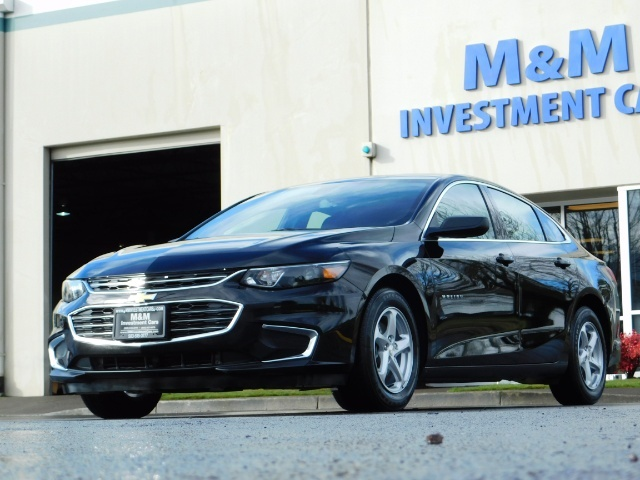 2017 Chevrolet Malibu LS / Sedan / Backup camera / 1-OWNER / LOW MILES - Photo 43 - Portland, OR 97217