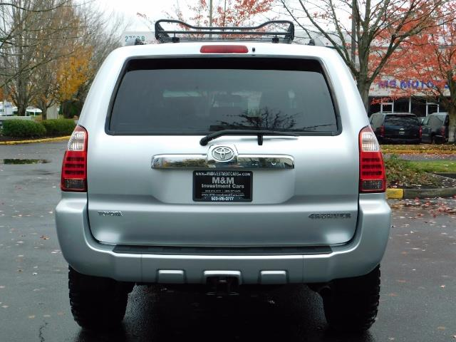 2006 Toyota 4Runner Sport Edition Sport Edition 4dr SUV LIFTED RR DIFF - Photo 7 - Portland, OR 97217
