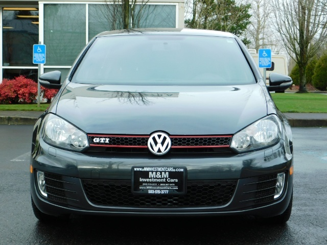 2014 Volkswagen GTI Wolfsburg Edition PZEV / 6-SPEED/ 1-OWNER - Photo 5 - Portland, OR 97217