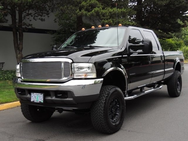 2001 ford f 250 super duty xlt 4x4 crew cab 7 3l diesel 1 owner. Black Bedroom Furniture Sets. Home Design Ideas