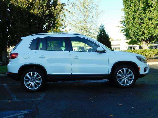 2014 Volkswagen Tiguan SEL 4Motion / AWD / Leather / Navi / Pano Sunroof - Photo 4 - Portland, OR 97217