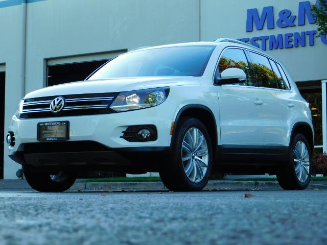 2014 Volkswagen Tiguan SEL 4Motion / AWD / Leather / Navi / Pano Sunroof - Photo 47 - Portland, OR 97217