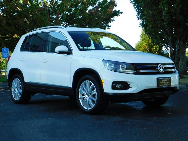 2014 Volkswagen Tiguan SEL 4Motion / AWD / Leather / Navi / Pano Sunroof - Photo 2 - Portland, OR 97217