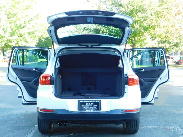 2014 Volkswagen Tiguan SEL 4Motion / AWD / Leather / Navi / Pano Sunroof - Photo 27 - Portland, OR 97217