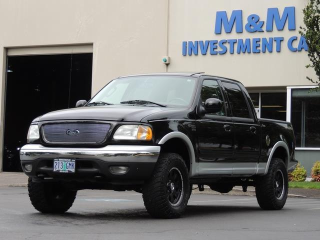 2003 Ford F 150 Lariat 4dr Supercrew 4x4 Leather Sunroof Photo