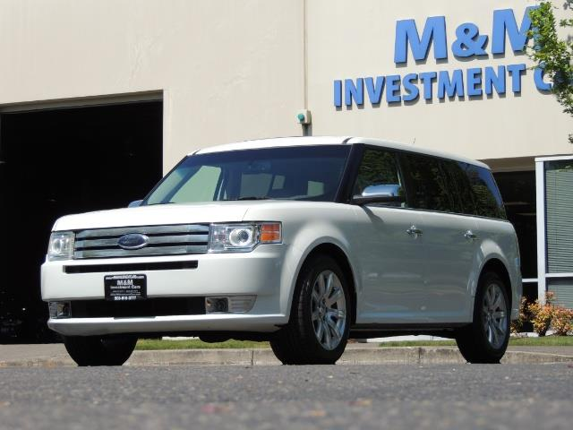 2010 Ford Flex Limited / AWD / Third Seat / Navigation / Leather - Photo 34 - Portland, OR 97217