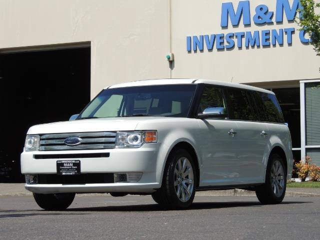 2010 Ford Flex Limited / AWD / Third Seat / Navigation / Leather - Photo 48 - Portland, OR 97217