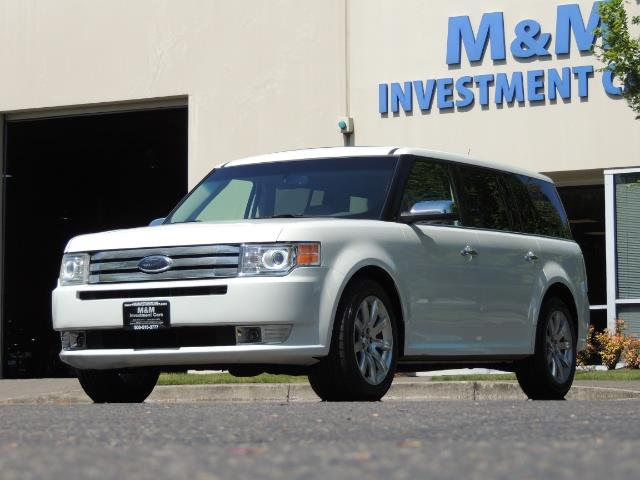 2010 Ford Flex Limited / AWD / Third Seat / Navigation / Leather - Photo 51 - Portland, OR 97217