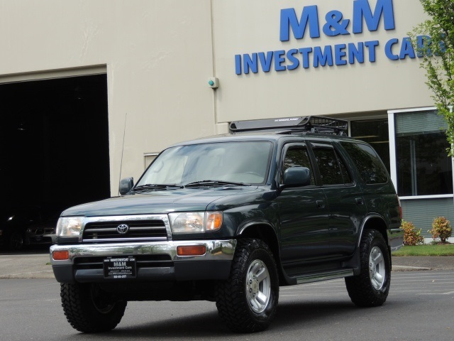 1997 Toyota 4Runner SR5 Manual Trans  Rear Diff Lockers 4x4