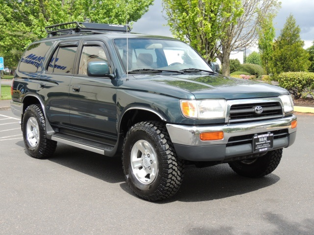 1997 Toyota 4Runner SR5 Manual Trans. Rear Diff Lockers 4x4   Photo 2    Portland