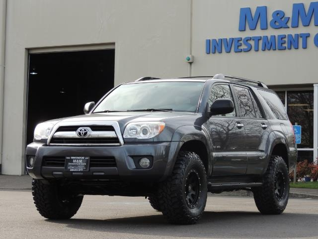 2008 Toyota 4Runner SR5 / 4WD / 6Cyl / LIFTED   Photo 1   Portland,