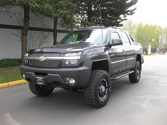 2003 Chevrolet Avalanche 2500 4wd Leather Moonroof Lifted