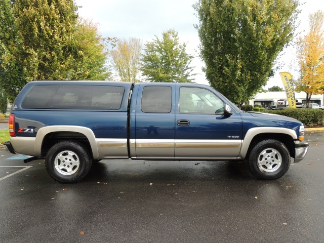 2001 chevrolet silverado 1500 lt 4wd extended cab matching canopy 1 owner. Black Bedroom Furniture Sets. Home Design Ideas