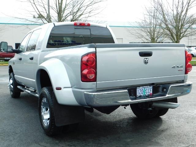 2007 Dodge Ram 3500 SLT / 4X4 / MEGACAB / DUALLY / 5.9L DIESEL / LOW M - Photo 8 - Portland, OR 97217