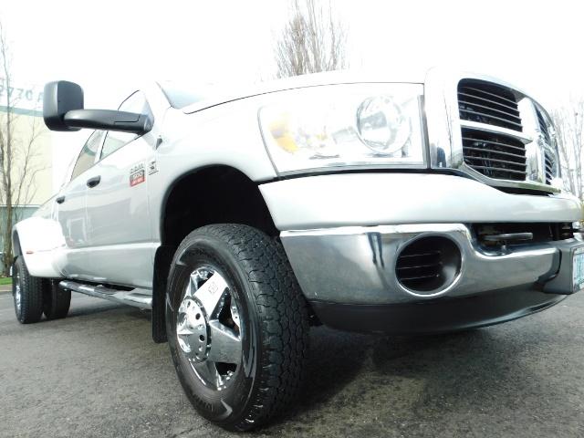 2007 Dodge Ram 3500 SLT / 4X4 / MEGACAB / DUALLY / 5.9L DIESEL / LOW M - Photo 10 - Portland, OR 97217