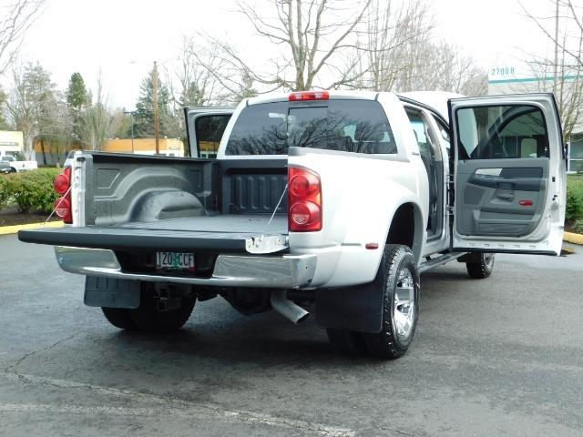 2007 Dodge Ram 3500 SLT / 4X4 / MEGACAB / DUALLY / 5.9L DIESEL / LOW M - Photo 28 - Portland, OR 97217