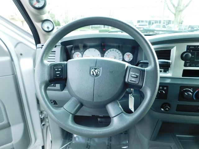 2007 Dodge Ram 3500 SLT / 4X4 / MEGACAB / DUALLY / 5.9L DIESEL / LOW M - Photo 20 - Portland, OR 97217