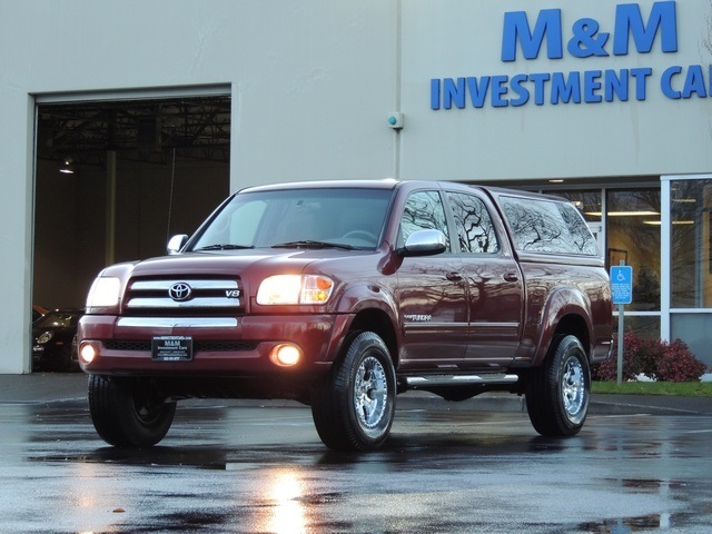 2004 Toyota Tundra SR5 4dr Double Cab / 4X4 / Canopy - Photo 1 - Portland & 2004 Toyota Tundra SR5 4dr Double Cab / 4X4 / Canopy