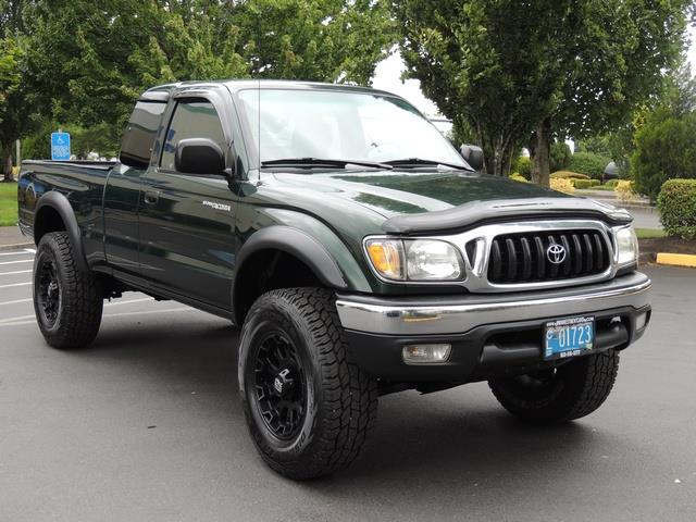 2003 toyota tacoma 4x4 v6 trd off road / diff lock / manual / lifted!