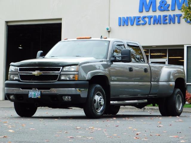2007 Chevrolet Silverado 3500 Classic LT3 4dr Crew Cab / 4X4 / 6.6L DURAMAX / DUALLY/LBZ - Photo 44 - Portland, OR 97217