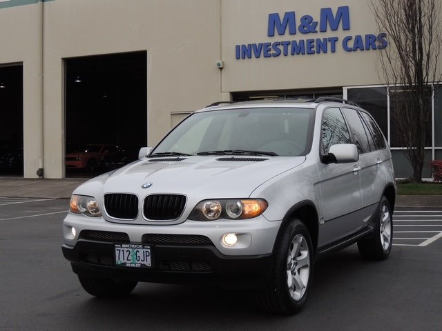 2004 Bmw X5 3 0i Sport Package Premium Package Excel Con