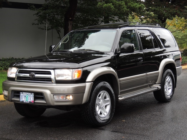 Lovely 2000 Toyota 4Runner Limited 4WD / V6 / Locking Diff /Timing Belt Rplcd    Photo